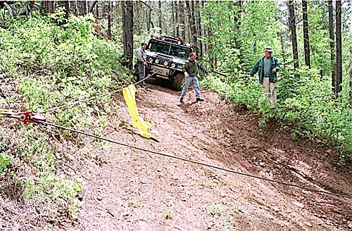 Warn Winch Setup Doing A Right Hand Pull