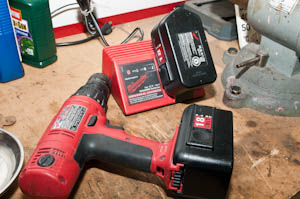 recell rebuild refill a milwaukee nicad battery pack yourself