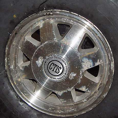 Recondition And Polish Aluminum Wheels